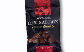 CHOCOLATE CON SABORES EN BOLSA